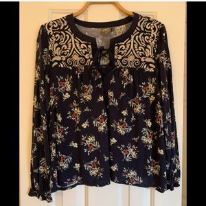 Anthropologie One September Blouse - size M